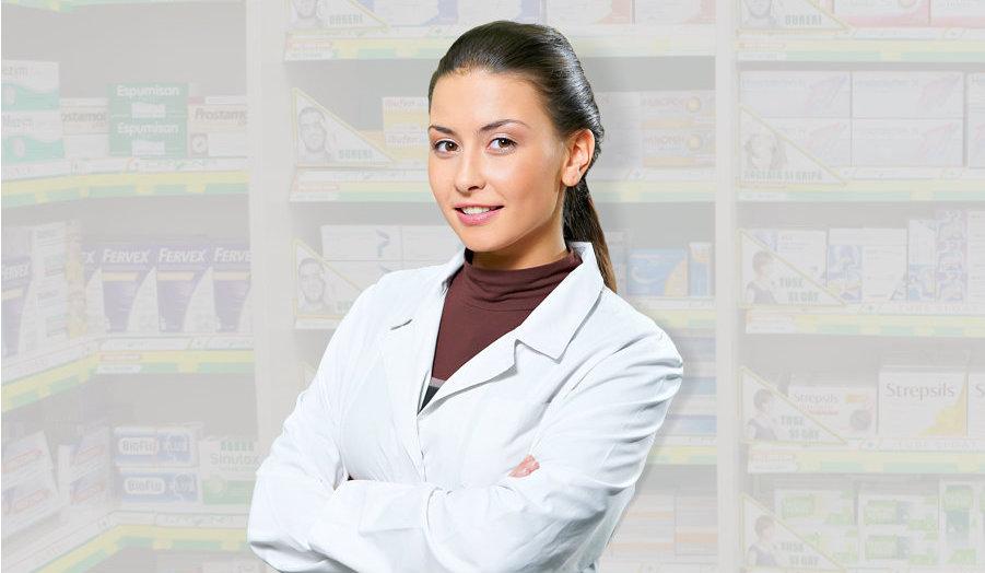 pharmacist smiling